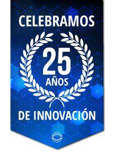 En IndigoVision estamos muy contentos de celebrar 25 años en la industria de la seguridad