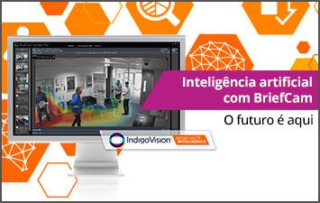 Inteligência artificial da IndigoVision com BriefCam - O futuro é aqui