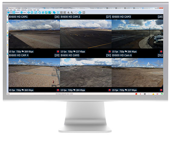 Control Center v12.0 monitor live grand canyon west airport