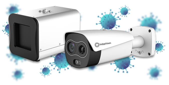 IndigoVision thermal temperature screening cameras