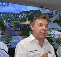 "Colombian President Launches ""Live In Peace"" City Security Strategy"