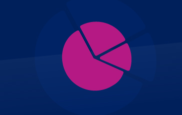Other Industries Pink Icon Showing Pie Chart