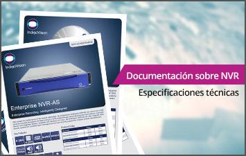 Documentación sobre NVR - Especificaciones técnicas