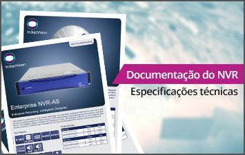 Documentação do NVR - Especificações técnicas