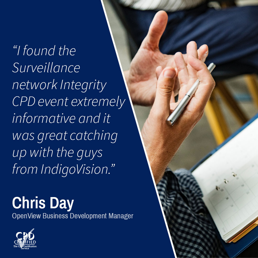 CPD - Surveillance Systems Network Integrity In A Cyber World