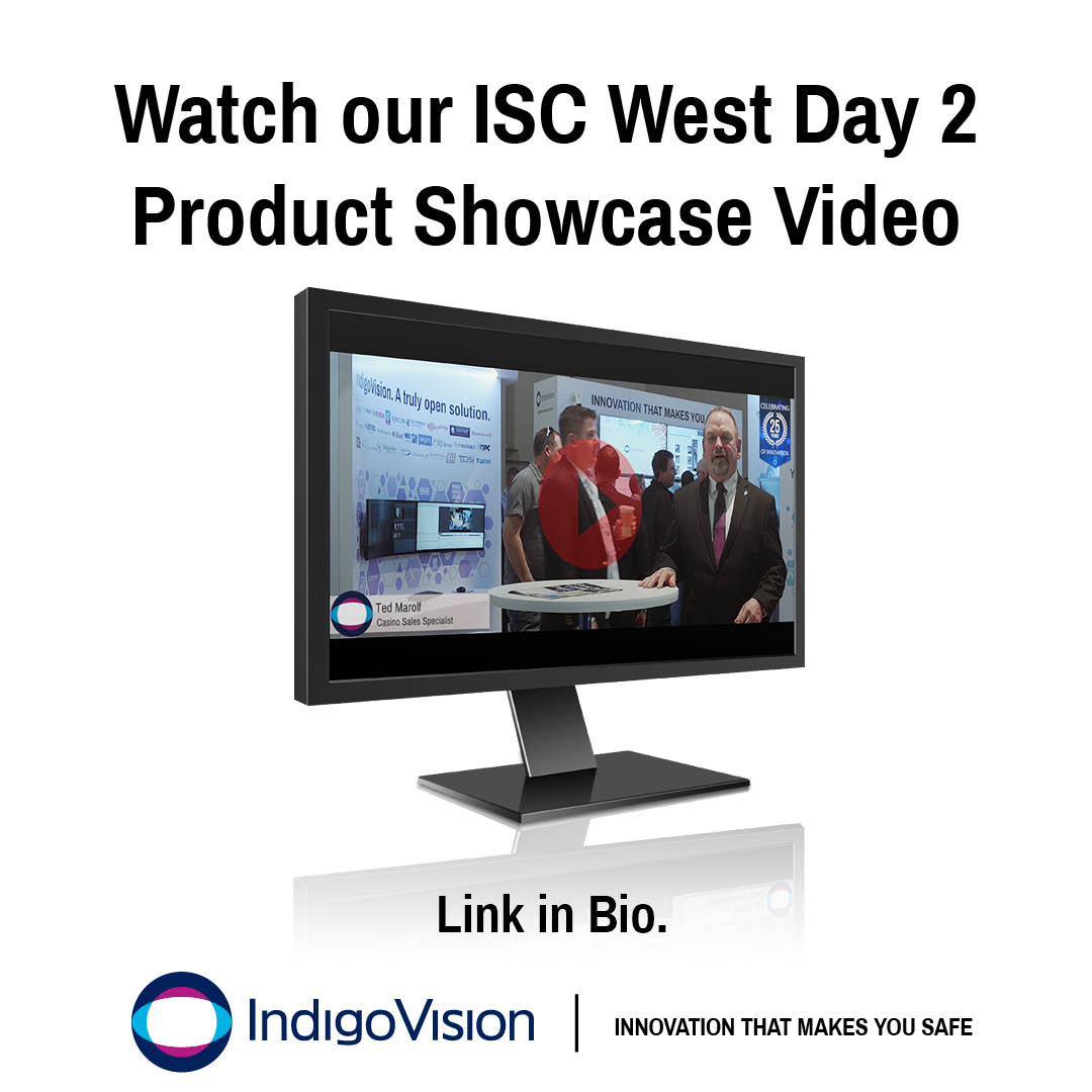 ISC West Day 2 Product Showcase Video