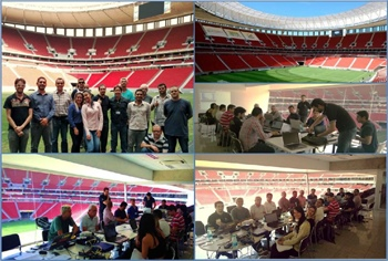 Training Brasilia Stadium