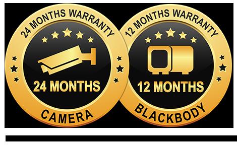 IndigoVision Thermal Temperature screening camera 12 months warranty stamp