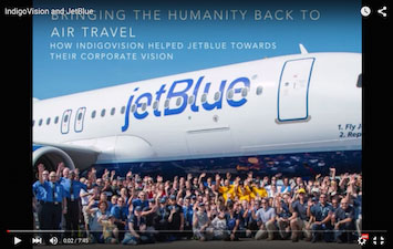 airport surveillance systems video thumbnail for Jet Blue