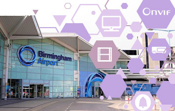 Case Study - Find out how IndigoVision Encoders helped Birmingham airport migrate their analog system to IP