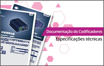 Documentação do Codificadores - Especificações técnicas
