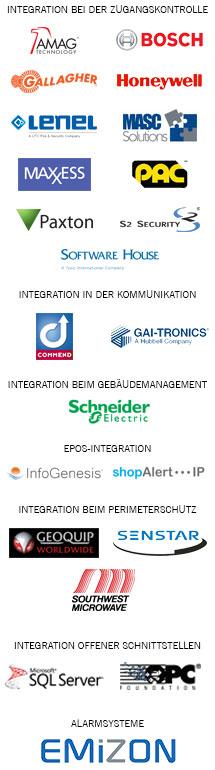 Integrations logo list - German