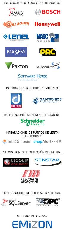 Integrations logo list - Spanish