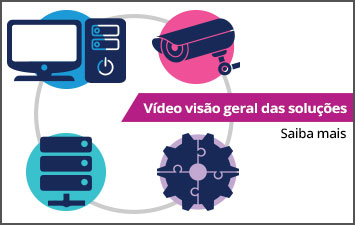 Vídeo visão geral das soluções - Saiba mais